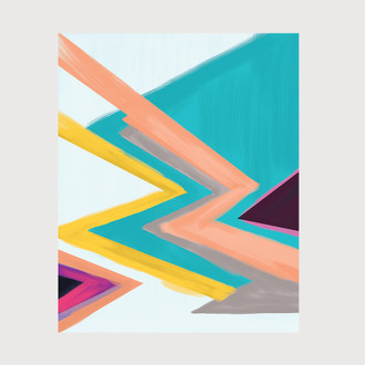 Abstract No.4 Art Print