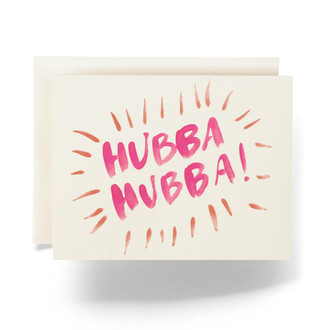Hubba Greeting Card