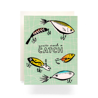 Such a Catch Greeting Card