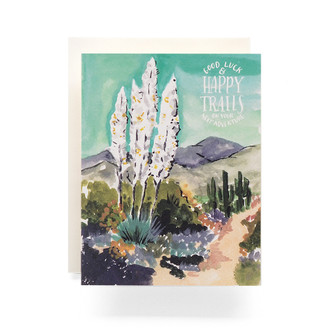 Agave Happy Trails Greeting Card
