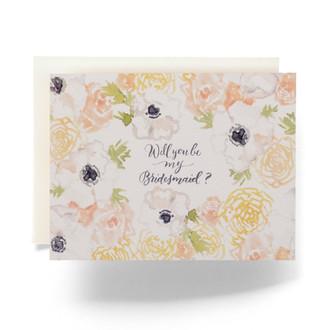 Natalia Bridesmaid Greeting Card
