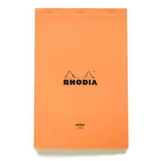 "Rhodia ""Yellow"" Lined Pad"