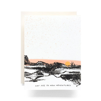 New Adventures Greeting Card