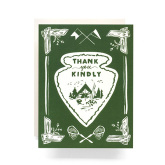 Arrowhead Thank You Greeting Card