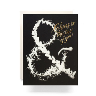Sunprint Ampersand Greeting Card