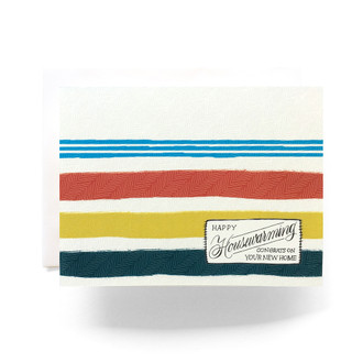Camp Blanket Housewarming Greeting Card
