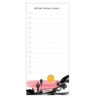 Sunset List Fridge Pad
