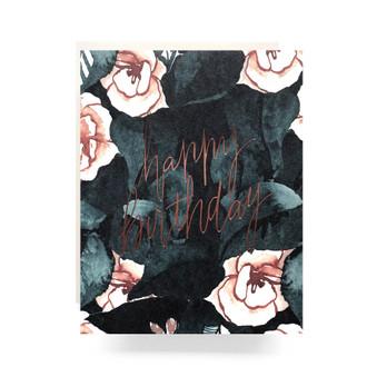 Magnolia Birthday Greeting Card