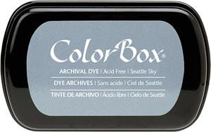 Color Box Stamp Pad, Archival, Seattle Sky