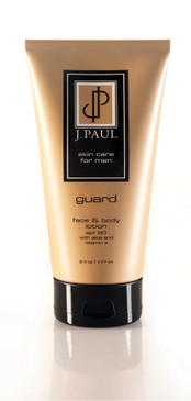 J. Paul Guard Face & Body Lotion with Aloe and Vitamin E - SPF 20