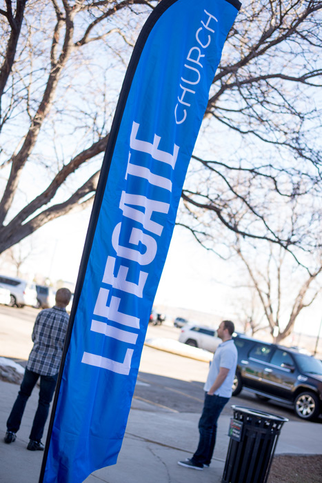 LifeGate Church - Denver - Falcon Flag