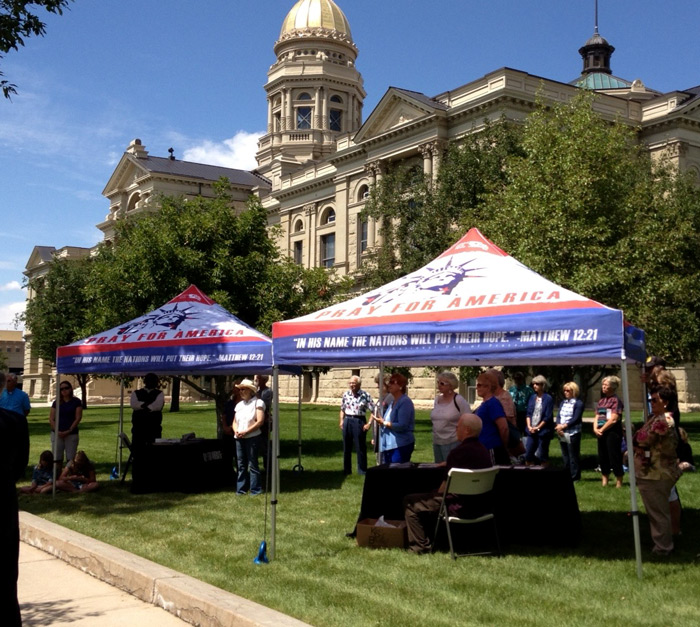 National Day of Prayer Task Force - 10ft Canopy Tent