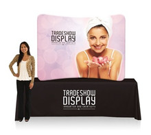 EZ Tube Display 6ft Curved Tabletop Single Sided (Frame & Graphic)