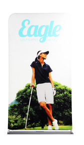 EZ Extend 4ft x 7.5ft Double-Sided Graphic Package