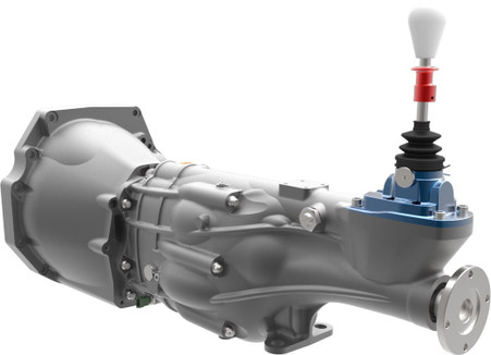 QBE60G with Nissan SR20 bell-housing (not included)