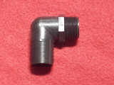 FITTING, BLK 3/4 NPT X 1 HSBRB ELB