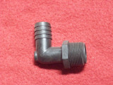 FITTING, BLK 3/4 NPT X 3/4HSBRB ELB