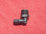 FITTING, BLK 1/2 NPT X 1/2HSBRB ELB