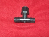FITTING, BLK 3/4 NPT X 3/4HSBRB TEE