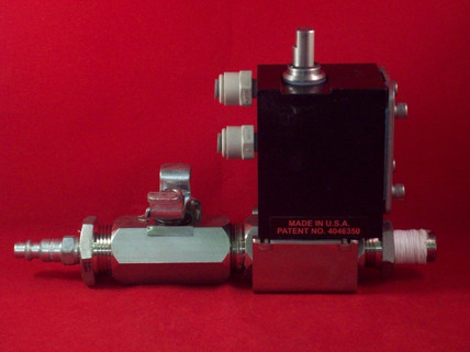 "1/4"" NPT Quick Disconnect -***- 3/4"" NPT Manual Ball Valve, -***- 3/4""x1/2"" NPT Actuated Ball Valve -***- 3/8"" NPT Close Nipple"
