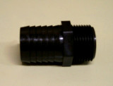 Fitting, Black Straight 3/4NPT x 1″