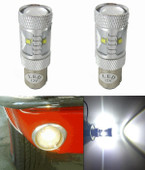 MP-1157-BLT-XP-WHITE  New Billet Ultra-bright WHITE lamps. 30 Watts of high power LED lighting!