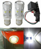 MP-1157-BLT-XP-WHITE KIT PAIR XP 30 Watt LEDs Plus Flasher