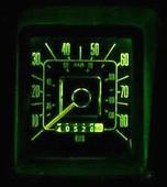 MP-6677-LED-GA-BRC-GRN-UB 66-77 Bronco LED lamps for your gauges