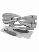 MP-8002-RD-L-CVX Bullet Mirror LED Kit - PAIR