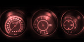 Rally Challenger LED Gauge Light Kit