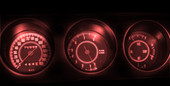 1970 GTO LED Gauge Light Kit- RED