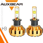 LED HeadLights by Auxbeam H3