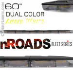 "nROADS Fleet Series DUAL COLOR FLOOD Amber/White 60"" Lightbar"