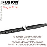 Feniex FUSION Interior Visor Single Color Light Bar