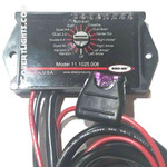 SHO-ME 11.1025.008 Micro-Rotary LED Switch with Built-In LED Flasher