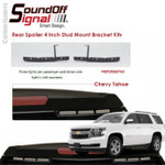 "mPOWER Tahoe Rear Spoiler 4"" Stud Mount Bracket SET"