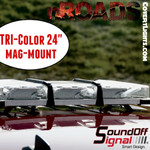 "nROADS 24"" Magnet mount TriCOLOR Class 1"