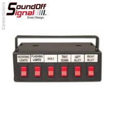SoundOff Signal 600 Series 6 Function Switch