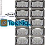 6x4 Pack of 10  TecNiq K60 6x4 Autosync