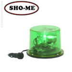 Sho-Me Halogen Rotating Beacon Magnetic  01.0500 GREEN