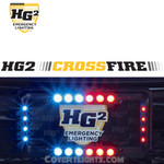 HG2 CROSSFIRE™ LICENSE PLATE FRAME