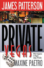 What happens in Vegas...stays Private.  Las Vegas is a city of contradictions: seedy and glamorous, secretive and wild, Vegas attracts people of all kinds--especially those with a secret to hide, or a life to leave behind. It's the perfect location for Lester Olsen's lucrative business. He gets to treat gorgeous, young women to five-star restaurants, splashy shows, and limo rides--and then he teaches them how to kill.  Private Jack Morgan spends most of his time in Los Angeles, where his top investigation firm has its headquarters. But a hunt for two criminals leads him to the city of sin--and to a murder ring that is more seductively threatening than anything he's witnessed before. PRIVATE VEGAS brings James Patterson's Private series to a sensational new level.