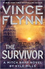 "A blistering novel that picks up where The Last Man left off, The Survivor is a no-holds-barred race to save America…and Mitch Rapp's finest battle.  When Joe ""Rick"" Rickman, a former golden boy of the CIA, steals a massive amount of the Agency's most classified documents in an elaborately masterminded betrayal of his country, CIA director Irene Kennedy has no choice but to send her most dangerous weapon after him: elite covert operative Mitch Rapp.  Rapp quickly dispatches the traitor, but Rickman proves to be a deadly threat to America even from beyond the grave. Eliminating Rickman didn't solve all of the CIA's problems—in fact, mysterious tip-offs are appearing all over the world, linking to the potentially devastating data that Rickman managed to store somewhere only he knew.  It's a deadly race to the finish as both the Pakistanis and the Americans search desperately for Rickman's accomplices, and for the confidential documents they are slowly leaking to the world. To save his country from being held hostage to a country set on becoming the world's newest nuclear superpower, Mitch Rapp must outrun, outthink, and outgun his deadliest enemies yet."