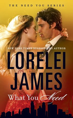 New York Times bestseller Lorelei James introduces a new family for readers to fall in love with in the Need You series. The Lund name is synonymous with wealth and power in Minneapolis-St. Paul. But the four Lund siblings will each discover true love takes a course of its own…  As the CFO of Lund Industries, Brady Lund is the poster child for responsibility. But eighty hour work weeks leave him little time for a life outside his corner office. His brothers stage an intervention and drag him to a seedy night club...where he sees her, the buttoned up blonde from the secretarial pool who's starred in his fantasies for months.  Lennox Greene is a woman with a rebellious past—which she carefully conceals beneath her conservative clothes. She knows flirting with her sexy, but aloof boss during working hours is a bad idea. So when Brady shows up at her favorite dive bar, sans his usual snappy suit, and catches her cutting loose, she throws caution aside and dares him to do the same.  After sparks fly, Brady finds keeping his hands off Lennox during office hours is harder than expected. While she makes him feel alive for the first time in years, a part of him wonders if she's just using him to get ahead. And Lennox must figure out if Brady wants her for the accomplished woman she is—or the bad girl she was.