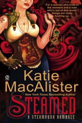 Katie Macalister takes on Steampunk—and romance gets hotter than ever…  Jack Fletcher's heart is about to get punked.  Computer technician Jack Fletcher is no hero, despite his unwelcome reputation as one. In fact, he's just been the victim of bizarre circumstances. Like now. His sister happens to disturb one of his nanoelectromechanical system experiments, and now they aren't where they're supposed to be. In fact, they're not sure where they are when…  …they wake up to see a woman with the reddest hair Jack has ever seen—and a gun. Octavia Pye is an Aerocorps captain with a whole lot of secrets, and she's not about to see her maiden voyage ruined by stowaways. But the sparks flying between her and Jack just may cause her airship to combust and ignite a passion that will forever change the world as she knows it…