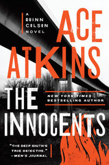 """""""The Innocents"""" picks up a year after Quinn lost his re-election as sheriff. He then returned to Afghanistan as a civilian helping train the local police force. Now back in Jericho, Quinn is adrift, trying to figure out what is going on with his girlfriend who may not be getting a divorce, and contending with his estranged father, who has grandiose ideas about developing land adjacent to Quinn's farm. His nemesis, the corrupt businessman Johnny Stagg, is in federal prison, but even more ruthless criminals may have moved in.  The horrific death of teenager Milly Jones pulls Quinn back into law enforcement when his help is needed by Sheriff Lillie Virgil. Milly had been a popular cheerleader, but this year after high school graduation has been rife with family problems. Her latest job was working as a stripper. Milly's death uncaps a swath of racism and fear as many suspects try to place the blame on others.  Quinn's friendship with Lillie and his love for his family are foremost, with his need for justice for Jericho and its people a close second. Yet Atkins allows Quinn to make mistakes and have foibles, making him an even more complex character.  """"The Innocents"""" moves at a brisk pace through Mississippi backroads to diners and cigar bars where deals are made but not always carried out.  Atkins, who is continuing the late Robert B. Parker's Spenser series, delivers another rousing thriller."""