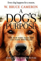 A Dog's Purpose—the #1 New York Times bestseller—is heading to the big screen! Based on the beloved bestselling novel by W. Bruce Cameron, A Dog's Purpose, from director Lasse Hallström (The Cider House Rules, Dear John, The 100-Foot Journey), shares the soulful and surprising story of one devoted dog (voiced by Josh Gad) who finds the meaning of his own existence through the lives of the humans he teaches to laugh and love. The family film told from the dog's perspective also stars Britt Robertson, KJ Apa, John Ortiz, Peggy Lipton, Juliet Rylance, Luke Kirby, Pooch Hall and Dennis Quaid. A Dog's Purpose is produced by Gavin Polone (Zombieland, TV's Gilmore Girls). The film from Amblin Entertainment and Walden Media will be distributed by Universal Pictures. Screenplay by W. Bruce Cameron & Cathryn Michon and Audrey Wells and Maya Forbes & Wally Wolodarsky.  Heartwarming, insightful, and often laugh-out-loud funny, A Dog's Purpose is not only the emotional and hilarious story of a dog's many lives, but also a dog's-eye commentary on human relationships and the unbreakable bonds between man and man's best friend. This moving and beautifully crafted story teaches us that love never dies, that our true friends are always with us, and that every creature on earth is born with a purpose.  Bailey's story continues in A Dog's Journey, the charming New York Times and USA Today bestselling direct sequel to A Dog's Purpose.