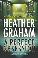 """Perfect suspense from New York Times bestselling author Heather Graham! The latest book in her New York Confidential series.   Someone is murdering beautiful young women in the New York area and displaying them in mausoleums and underground tombs. The FBI is handling the case, with Special Agent Craig Frasier as lead.   Kieran Finnegan, forensic psychologist and part owner of Finnegan's, her family's pub, is consulting on the case. Craig and Kieran are a couple who've worked together on more than one occasion. On this occasion, though, Craig fears for the safety of the woman he loves. Because the killer is too close. The body of a young model is found in a catacomb under a two-hundred-year-old church, now deconsecrated and turned into a nightclub. A church directly behind Finnegan's in lower Manhattan.   As more women are murdered, their bodies discovered in underground locations in New York, it's clear that the police and the FBI are dealing with a serial killer. Craig and Kieran are desperate to track down the murderer, a man obsessed with female perfection. Obsessed enough to want to """"preserve"""" that beauty by destroying the women who embody it…"""