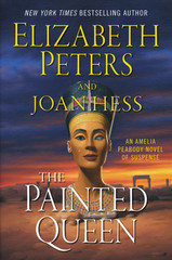"""Egypt, 1912—Amelia Peabody and her dashing archeologist husband, Radcliffe Emerson, are once again in danger as they search for a priceless, stolen bust of legendary Queen Nefertiti and Amelia finds herself the target of assassins in this long-awaited, eagerly anticipated final installment of Elizabeth Peters' bestselling, beloved mystery series.  Arriving in Cairo for another thrilling excavation season, Amelia is relaxing in a well-earned bubble bath in her elegant hotel suite in Cairo, when a man with knife protruding from his back staggers into the bath chamber and utters a single word—""""Murder""""—before collapsing on the tiled floor, dead. Among the few possessions he carried was a sheet of paper with Amelia's name and room number, and a curious piece of pasteboard the size of a calling card bearing one word: """"Judas."""" Most peculiarly, the stranger was wearing a gold-rimmed monocle in his left eye.  It quickly becomes apparent that someone saved Amelia from a would-be assassin—someone who is keeping a careful eye on the intrepid Englishwoman. Discovering a terse note clearly meant for Emerson—Where were you?""""—pushed under their door, there can be only one answer: the brilliant master of disguise, Sethos.  But neither assassins nor the Genius of Crime will deter Amelia as she and Emerson head to the excavation site at Amarna, where they will witness the discovery of one of the most precious Egyptian artifacts: the iconic Nefertiti bust. In 1345 B.C. the sculptor Thutmose crafted the piece in tribute to the great beauty of this queen who was also the chief consort of Pharaoh Akhenaten and stepmother to King Tutankhamun.  For Amelia, this excavation season will prove to be unforgettable. Throughout her journey, a parade of men in monocles will die under suspicious circumstances, fascinating new relics will be unearthed, a diabolical mystery will be solved, and a brilliant criminal will offer his final challenge . . . and perhaps be unmasked at last."""