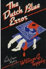 """The Dutch Blue Error"" is the 2nd novel in the Brady Coyne series. Ollie Weston owns a unique stamp that is named the Dutch Blue Error by stamp collectors. It is worth around 1 million dollars. When a Mr. Sullivan calls Weston to tell him that he also has a copy of the Dutch Blue Error, Weston knows he must have it to preserve the value of his stamp, so he calls Brady Coyne in to negotiate a deal to obtain the stamp. A deal is struck, but Mr. Sullivan doesn't show. It turns out that Mr. Sullivan is dead. Brady must try to find the stamp, and Sullivan's killer. In the meantime another murder victim is found. In this novel, Brady has a law student, Zerk, working as his secretary, and Zerk is a very likeable character. This is an excellent mystery with a strong plot and a touch of irony. A real winner!"
